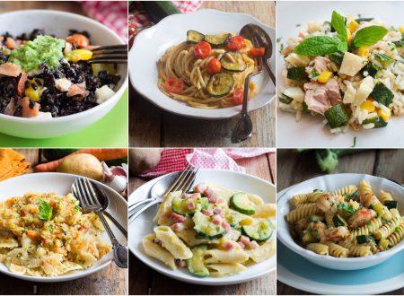 PRIMI PIATTI CON LE ZUCCHINE 15 ricette con pasta, riso e altri cereali!