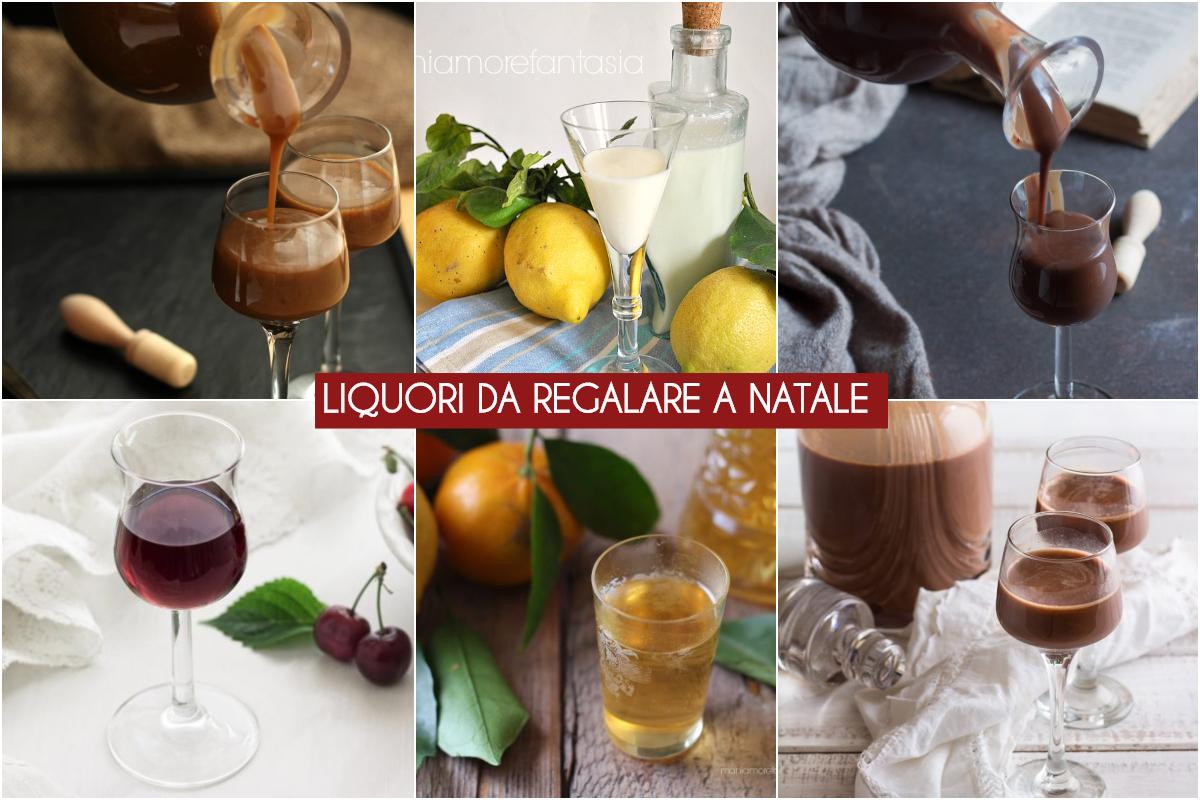 liquori fatti in casa da regalare a Natale