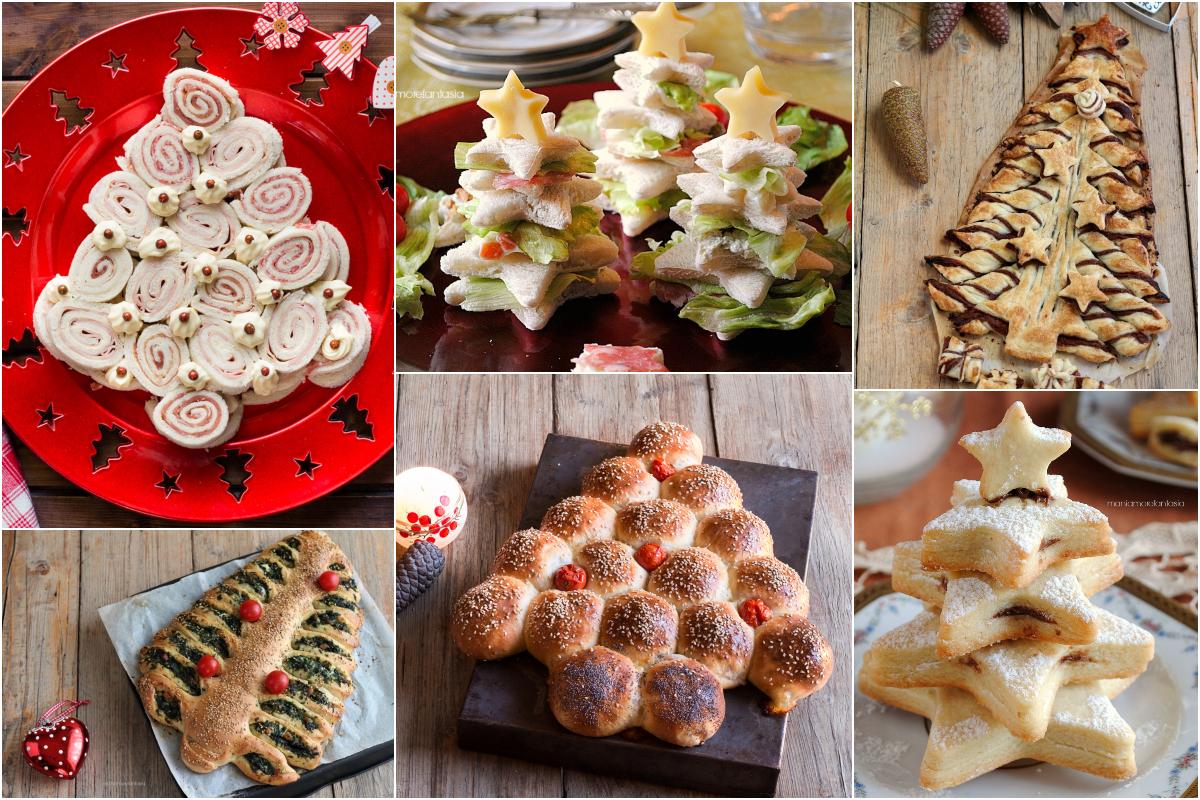 Antipasti Natalizi A Forma Di Albero Di Natale.Alberi Di Natale Da Mangiare Ricette Per Cucinare Antipasti E Dolci Facili