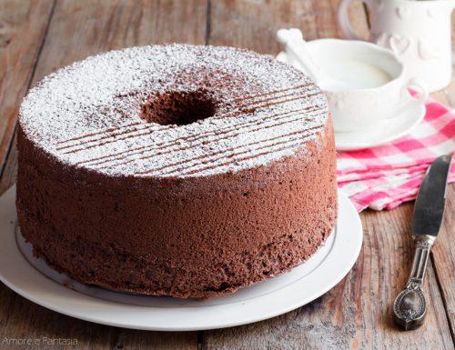 CHIFFON CAKE AL CACAO, altissima e sofficissima!