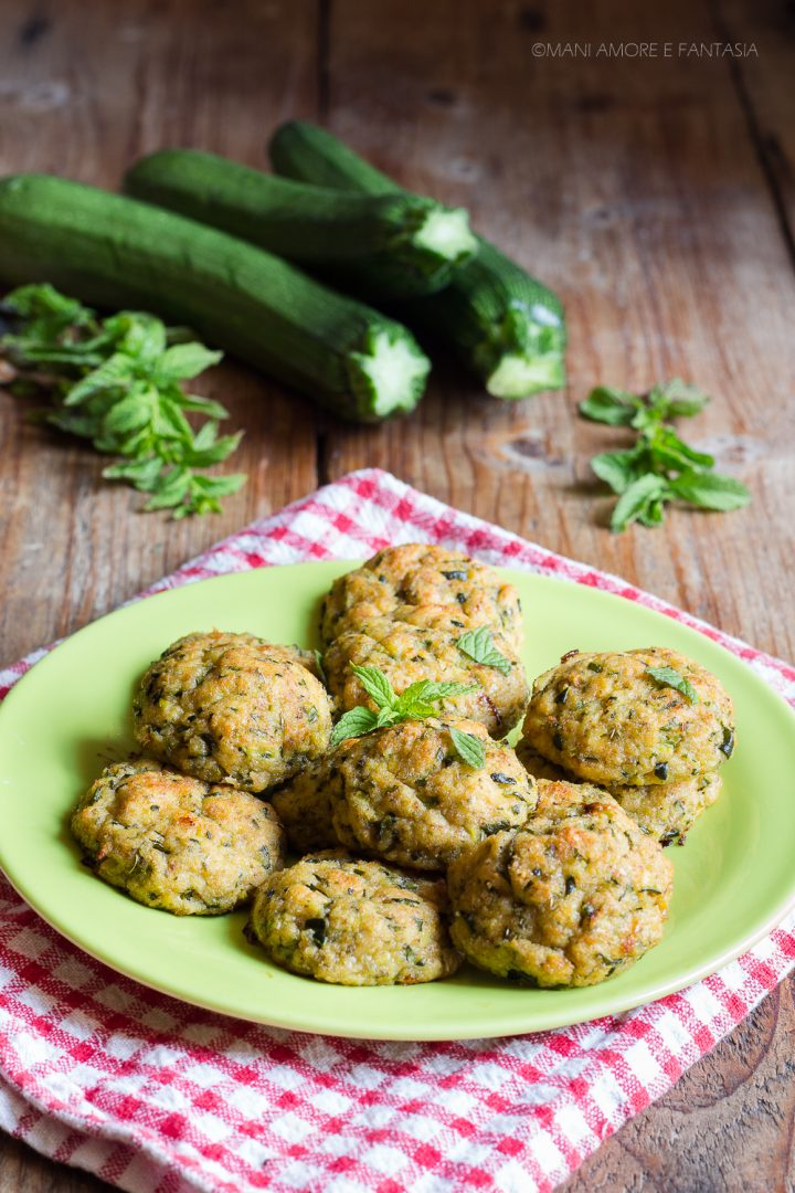 polpette di zucchina