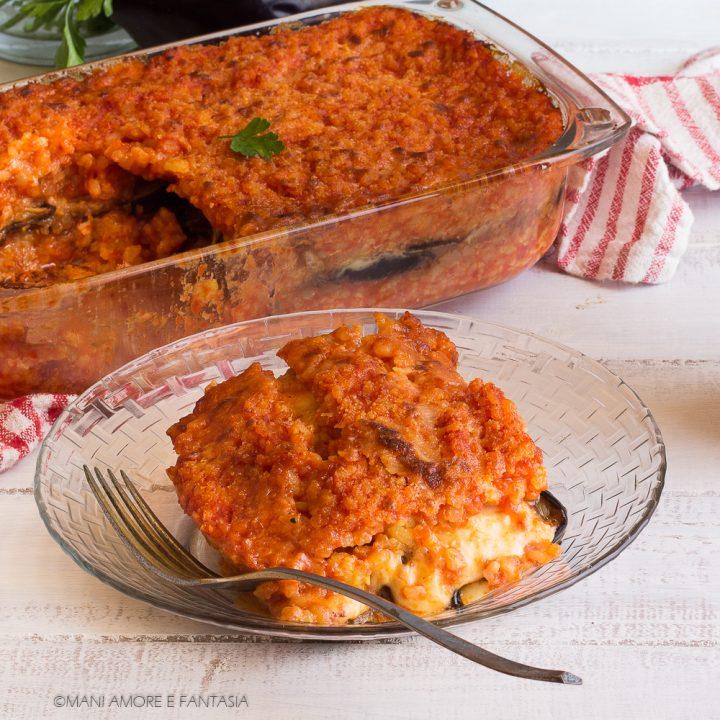 sformato di riso alla parmigiana