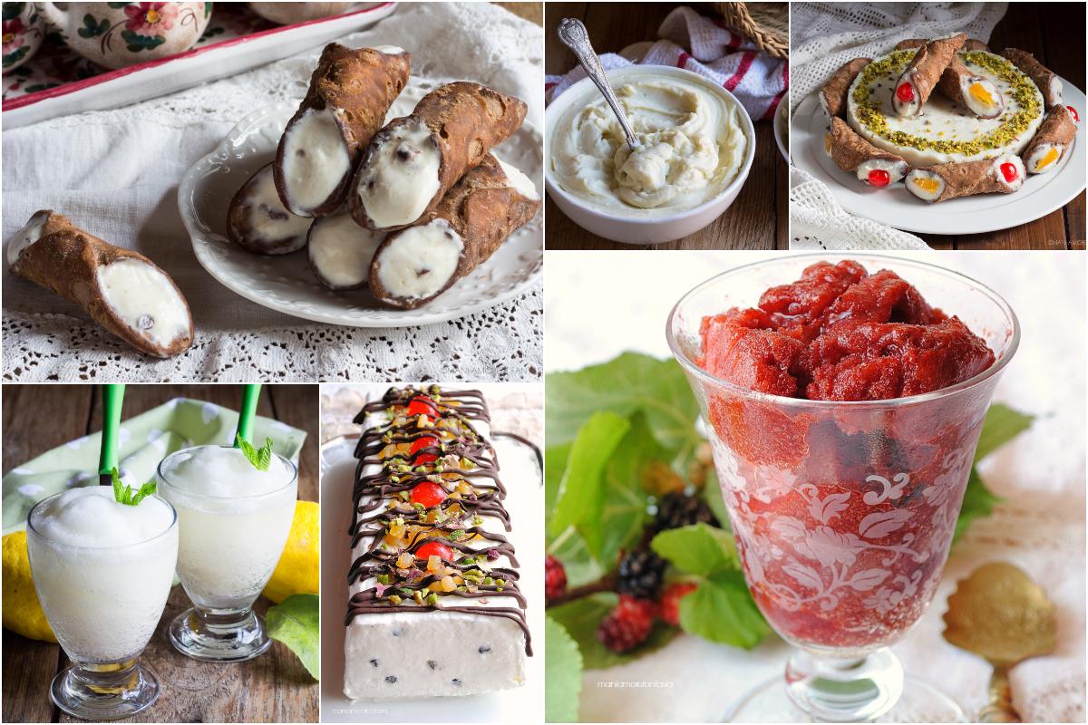 dolci siciliani estivi