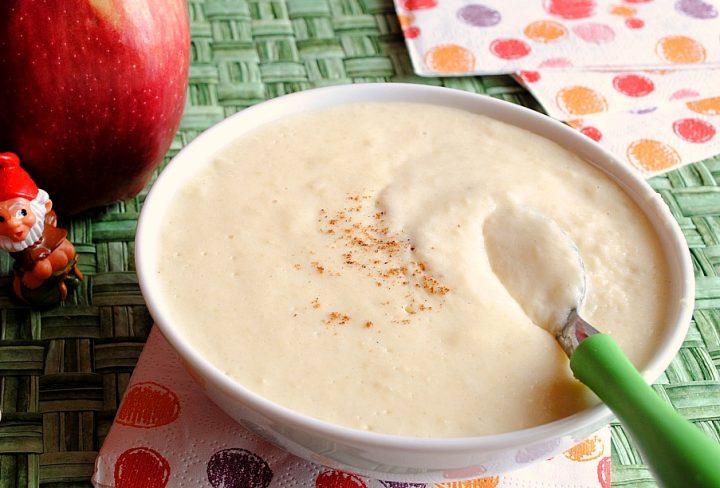crema di semolino alle mele