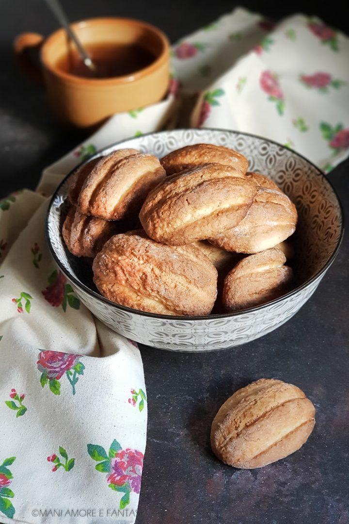 biscotti con mascarpone nell'impasto