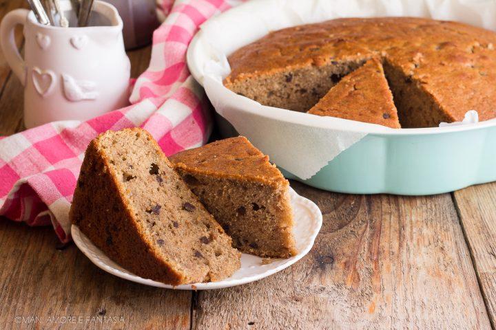 torta ricotta e caffè
