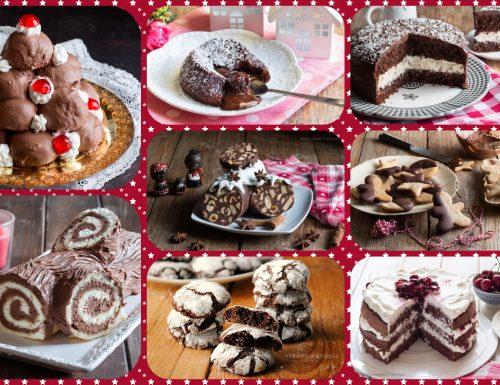 DOLCI AL CIOCCOLATO PER NATALE, torte, crostate, biscotti e tanto altro!