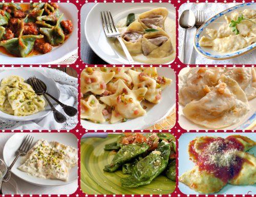 PASTA FRESCA RIPIENA, ricette per ravioli, tortelli e co. e i loro condimenti!