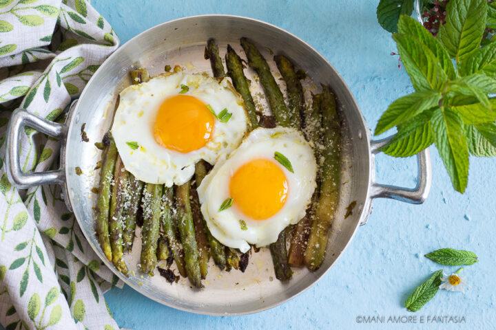 uova e asparagi alla milanese