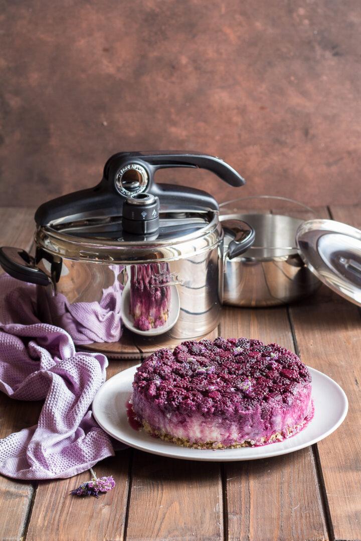 cheesecake in pentola a pressione