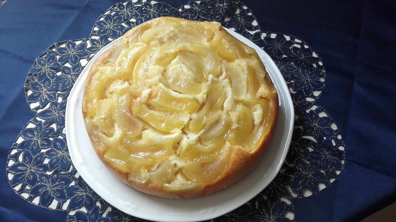 Torta rovesciata di mele