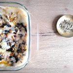 Lasagne con radicchio e crema di noci
