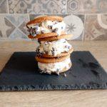 Biscotti gelato alla stracciatella