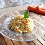 Risotto con le carote