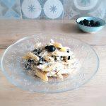 Pasta con crema di olive