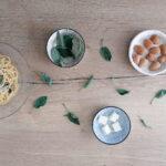 Spaghetti con burro, salvia e mandorle (di Santa Ildegarda)