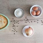 Minestra di riso e uova ripassata al forno