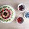 Torta alla frutta fresca con pan di Spagna e crema