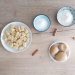 Gnocchi di patate  con burro, zucchero e cannella (per San Michele)