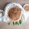 Torta salata con cereali e funghi