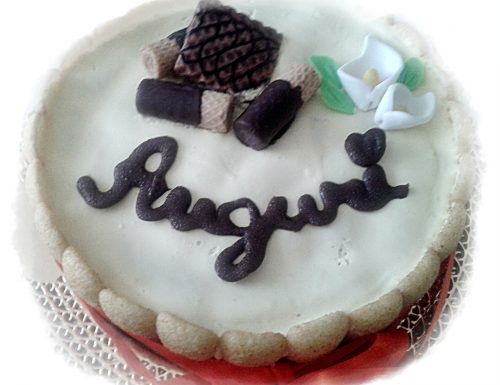 Torta Tiramisu decorata