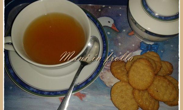 Biscotti da té vegan