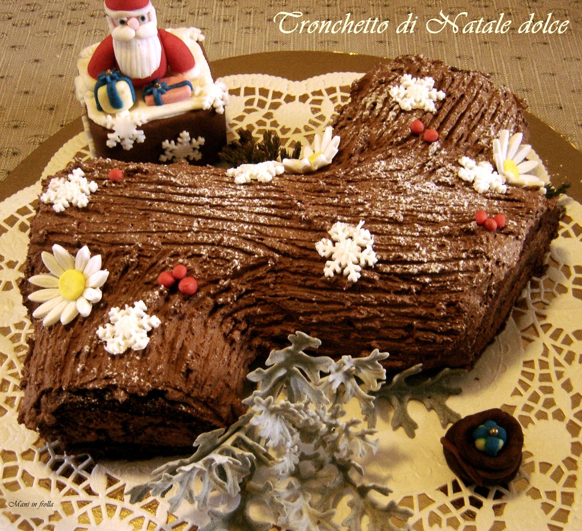 Tronchetto di Natale - Buche de Noel