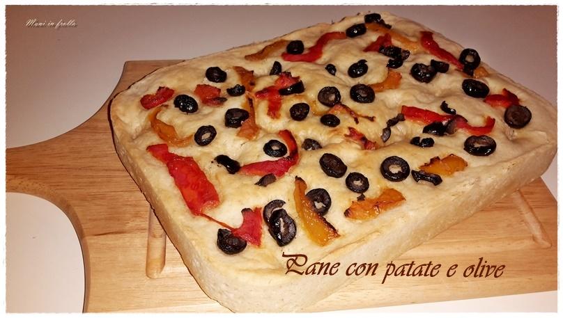 Pane con patate e olive
