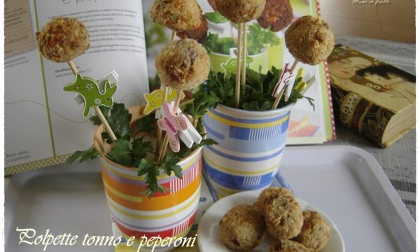 Polpette tonno e peperoni – food pops