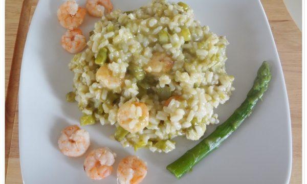 [:it]Risotto asparagi e gamberetti[:]
