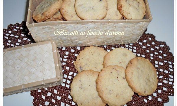[:it]Biscotti ai fiocchi d'avena[:]