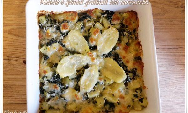[:it]Patate e spinaci gratinati con mozzarella[:]