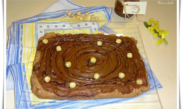 Delizia al cacao con crema alla nocciola
