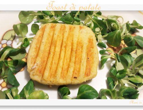 Toast di patate … un'alternativa al solito toast