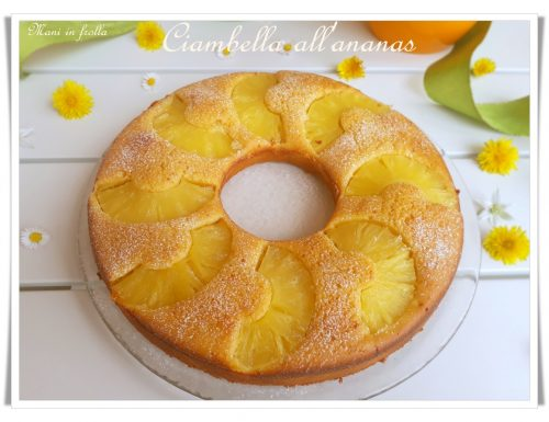 Ciambella all'ananas