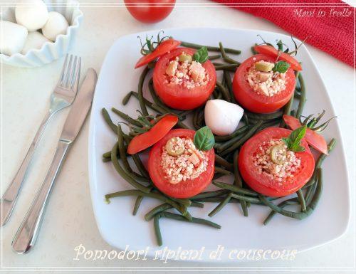 Pomodori ripieni di couscous