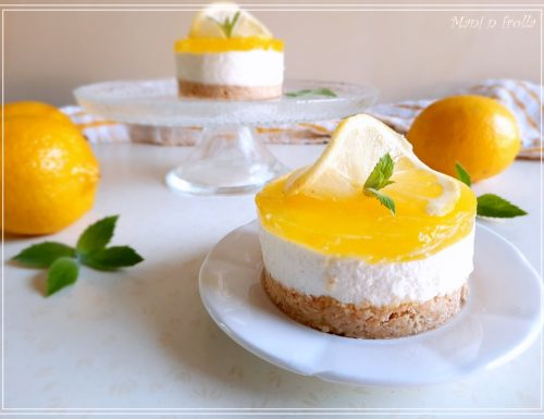 Cheesecake al limone – ricetta fresca