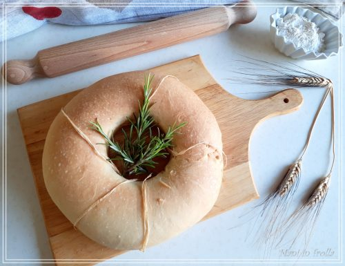 Pane a ciambella – ideale da farcire