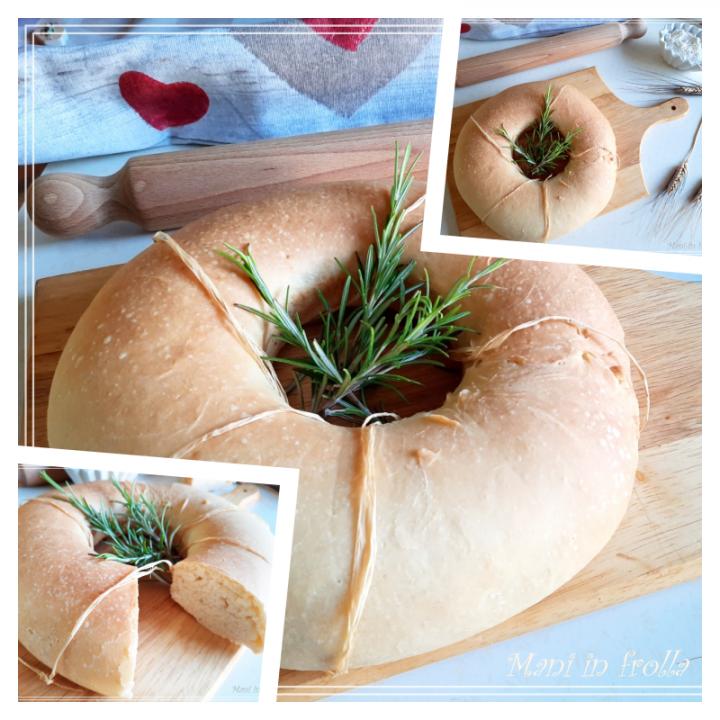 Pane a ciambella - per bruschette