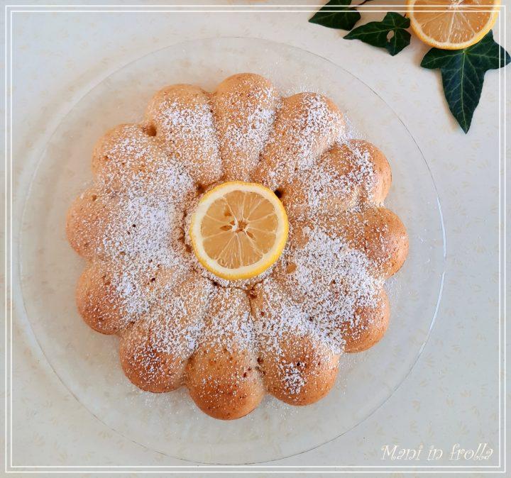 Torta con marmellata di limoni