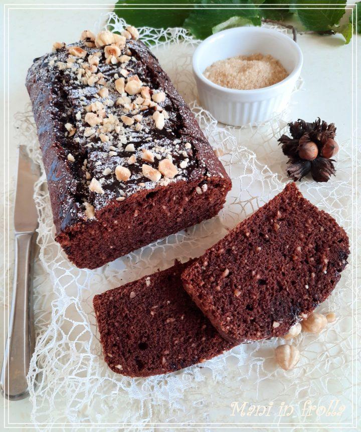 Plumcake cacao e nocciole