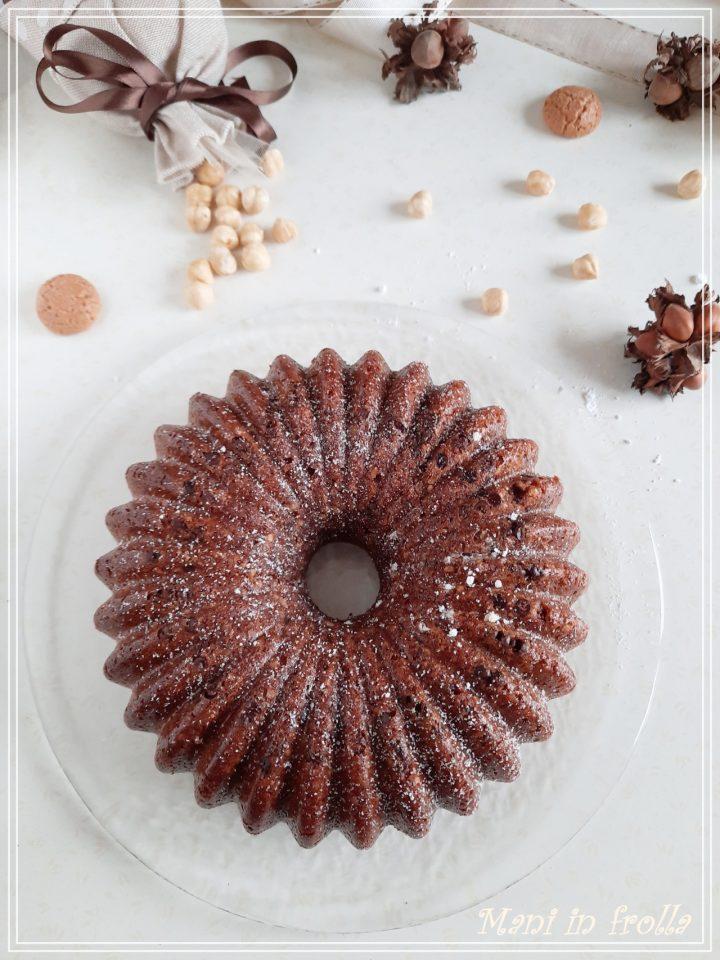 Torta nocciole amaretti e cacao