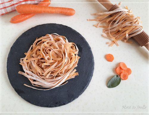 Tagliatelle colorate … alle carote