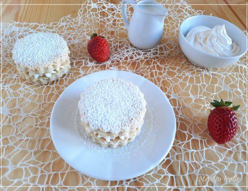 Tortine monoporzione con crema al latte – ricetta veloce