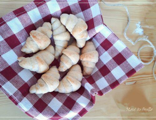 Mini croissant salati – ottimi per buffet