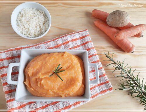 Purè di carote e patate … buono e cremoso