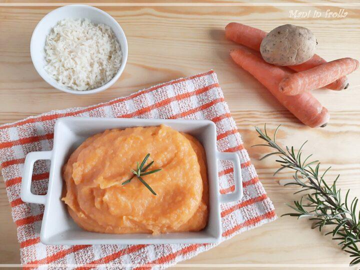Purè di carote e patate