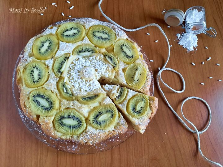 Torta soffice con i kiwi