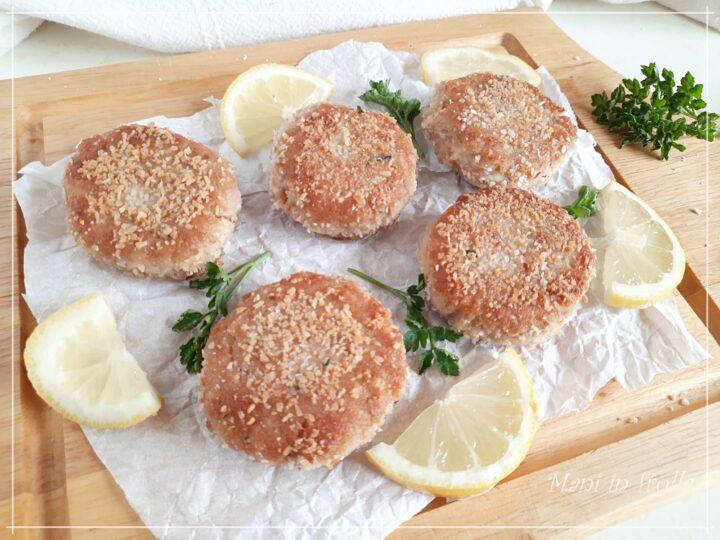 Polpette tonno e patate in padella e in friggitrice ad aria