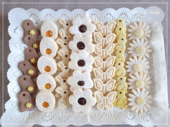 Biscotti friabili assortiti